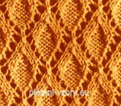 Vzor č. 33 – Kaleidoskop vzorů pro ruční pletení 54e5c3409f