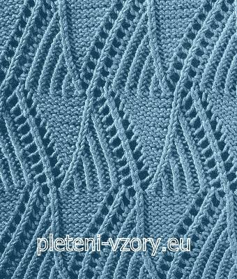 Vzor č. 36 – Kaleidoskop vzorů pro ruční pletení 9d93268245