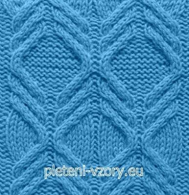 Vzor č. 46 – Kaleidoskop vzorů pro ruční pletení 02281ec342