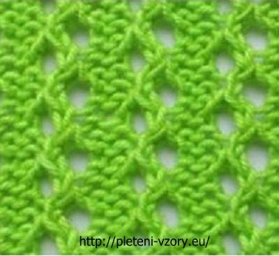 Vzor č. 59 – Kaleidoskop vzorů pro ruční pletení 5608656f52