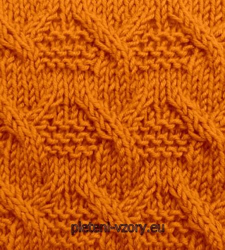 Vzor č. 69 – Kaleidoskop vzorů pro ruční pletení 6eba58feee