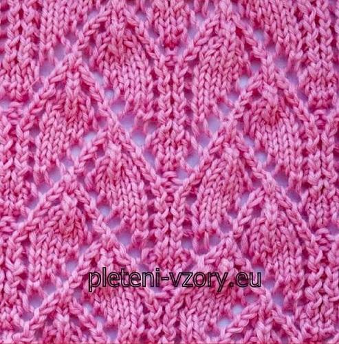 Vzor č. 124 – Kaleidoskop vzorů pro ruční pletení e9d99fb761
